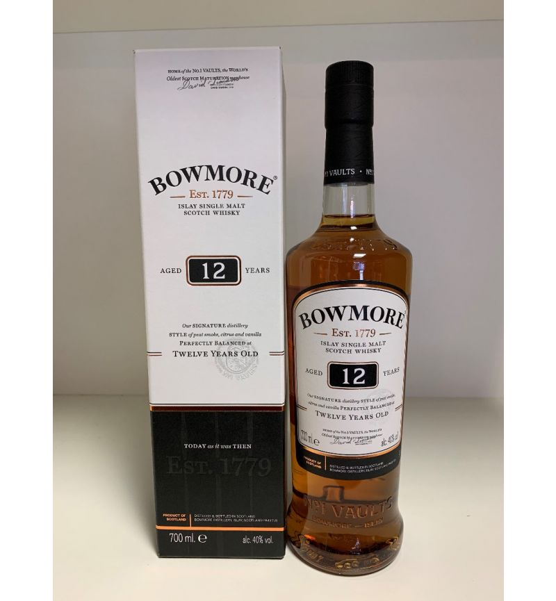 Bowmore 12Y Islay SM Scotch Whisky 40°/700ml