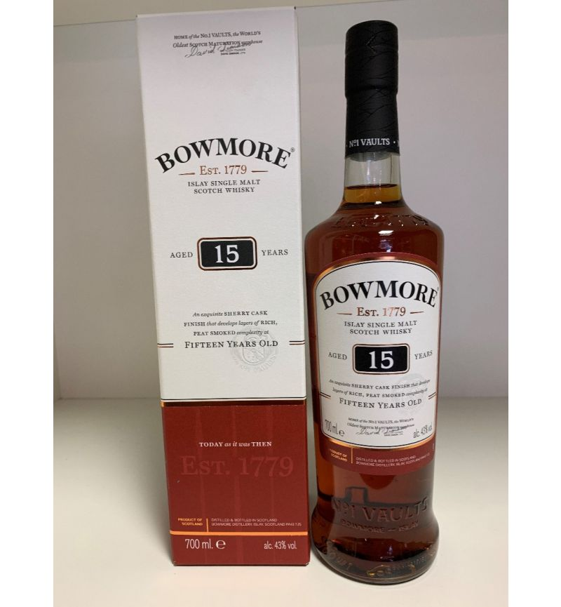 Bowmore 15Y Islay SM Scotch Whisky 43°/700ml