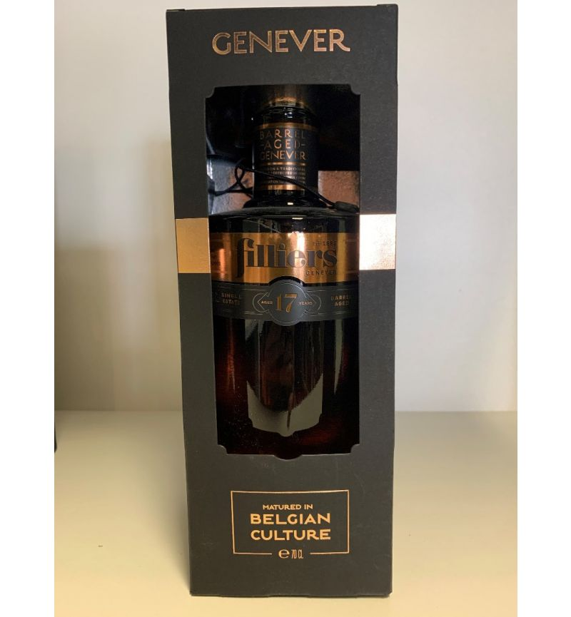 Jenever Filliers Barrel Aged 17Y 44°/700ml