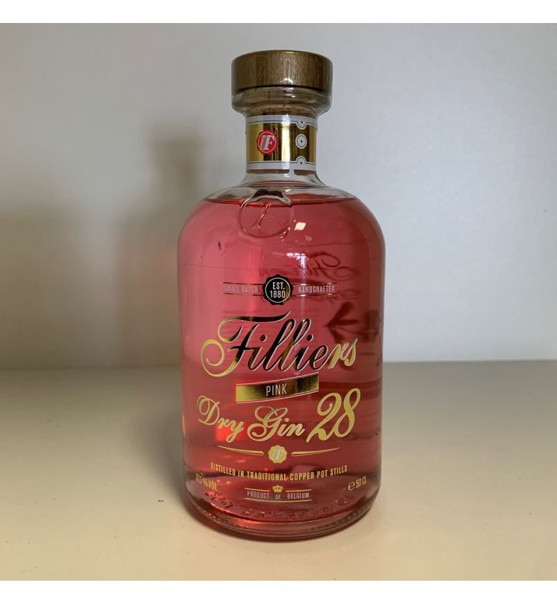 Filliers Pink Gin 37,5°/500ml