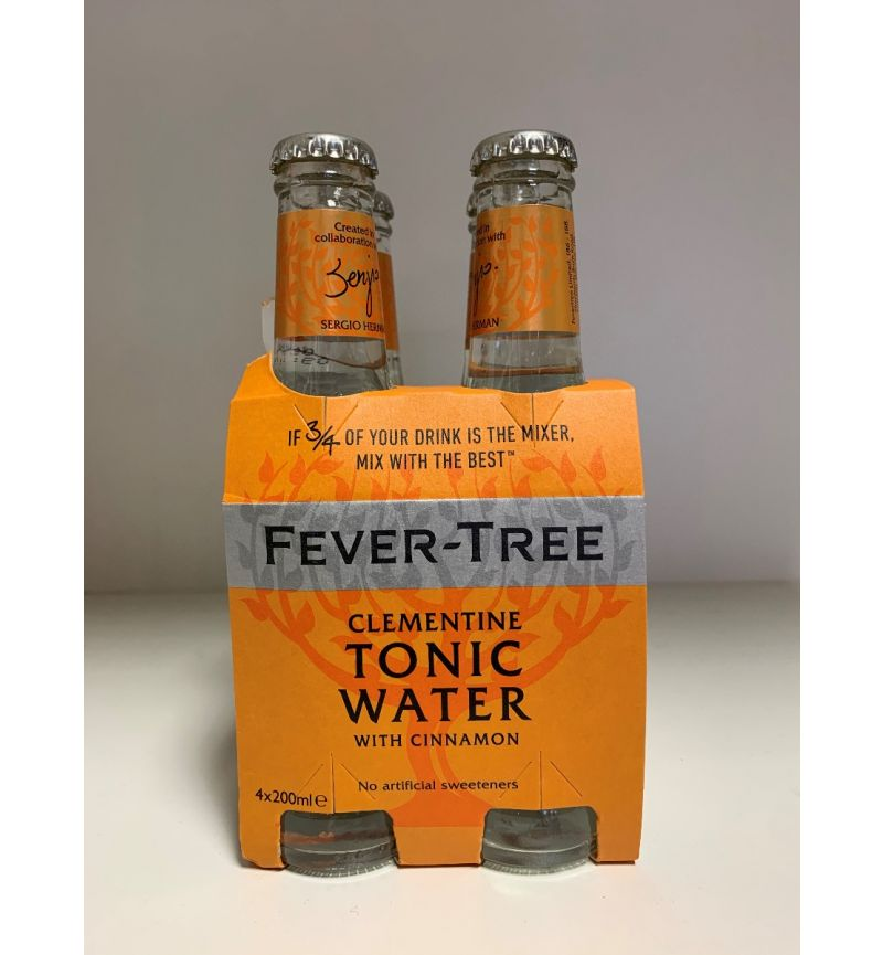 4-pack Fever Tree Clementine 4x200ml