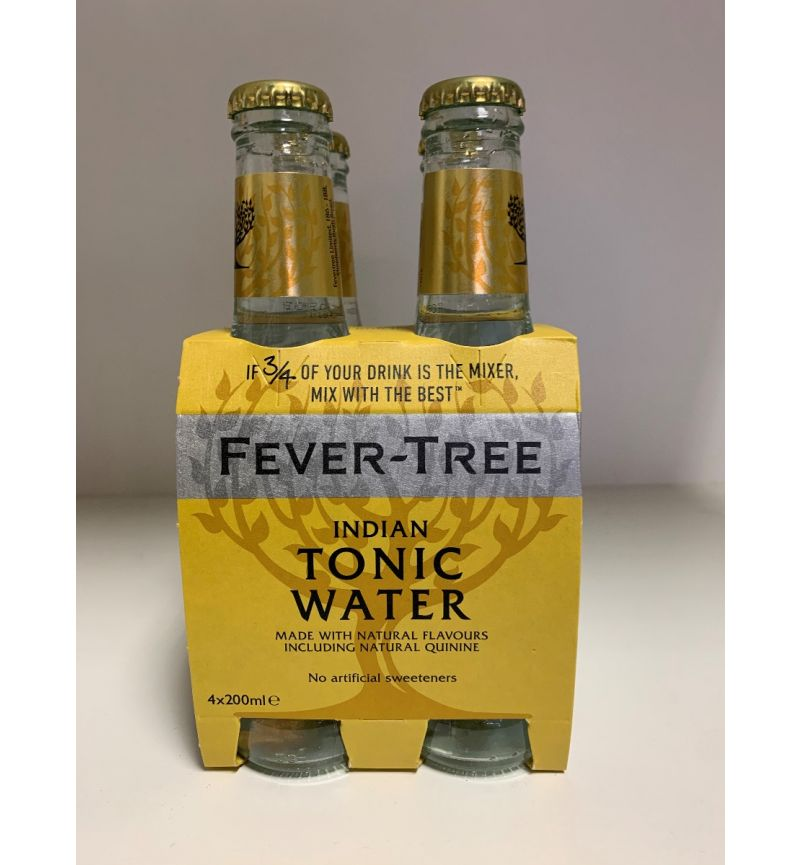 Fever Tree Indian Tonic Water 4-pack 200ml x 4