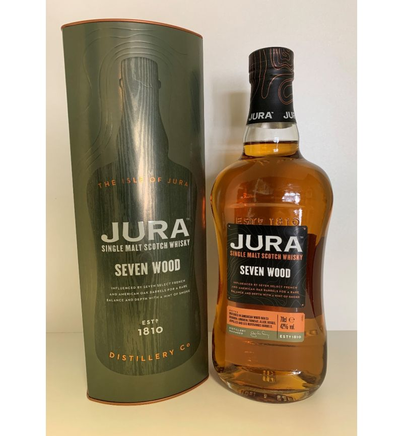 Jura Seven Wood Scotch Single Malt 42°/700ml