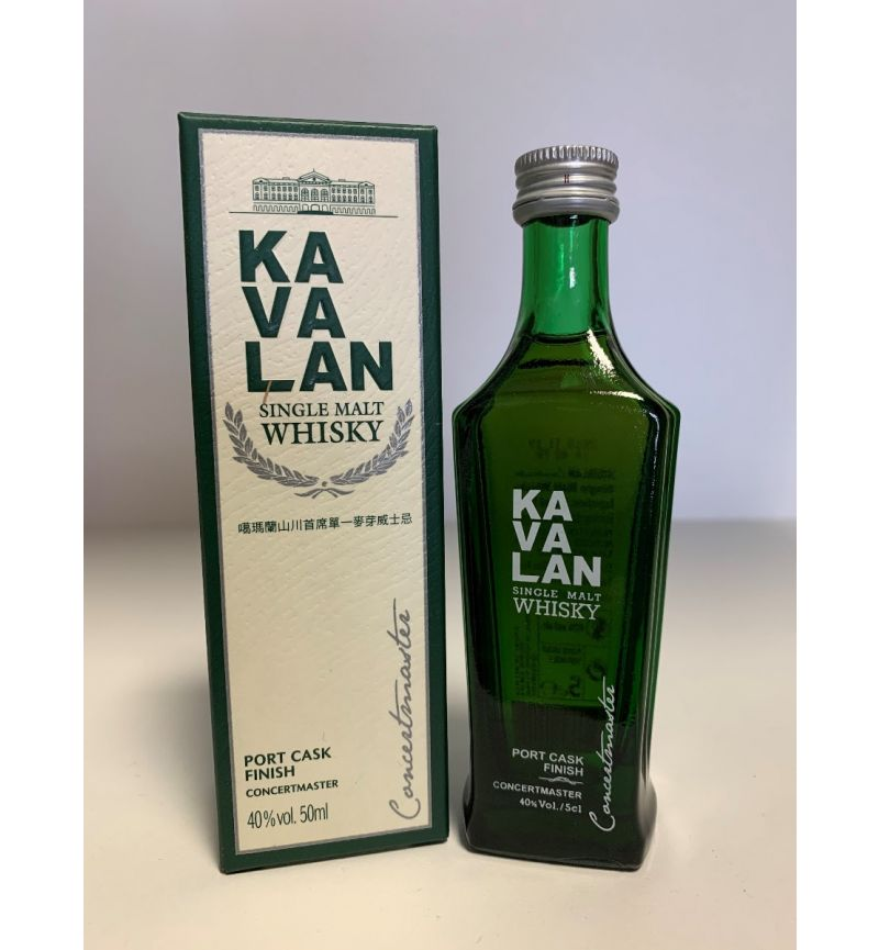 Kavalan SM Whisky Port Cask Finish 40°/50ml