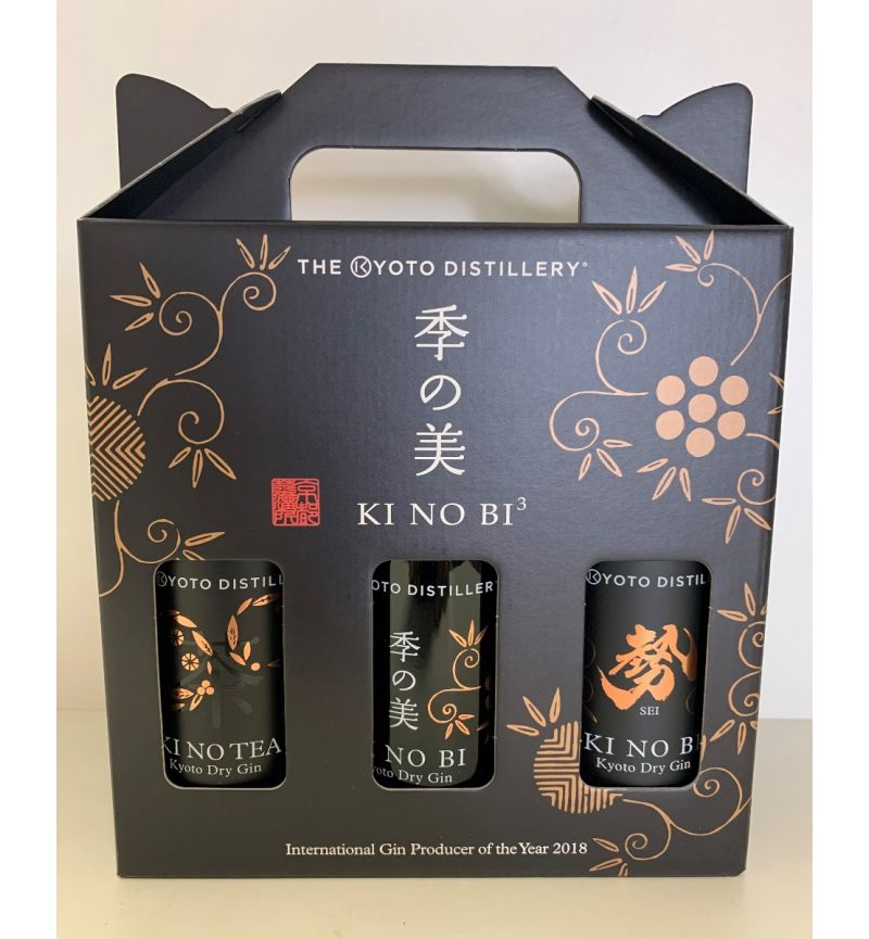 Kinobi Gin Japan 3-pack 200ml