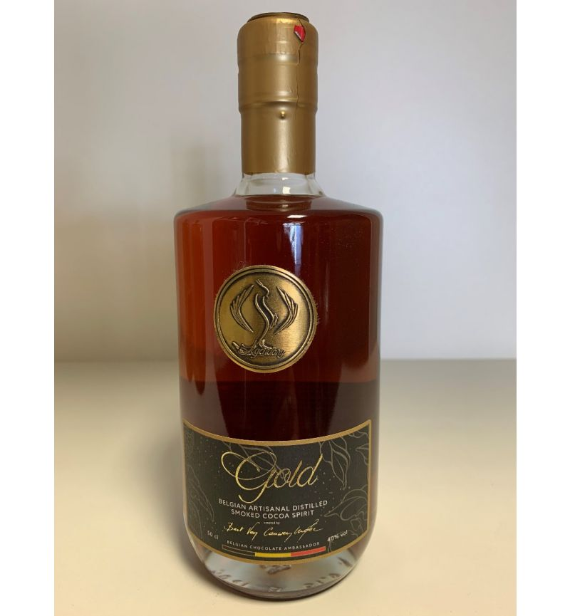 Legendary Gold Smoked Cocoa Spirit 40°/500ml