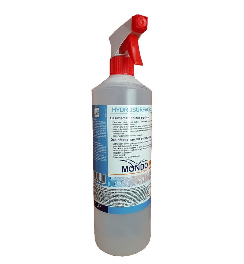 Hydrosurfaces desinfecterende spray 75°/1000ml