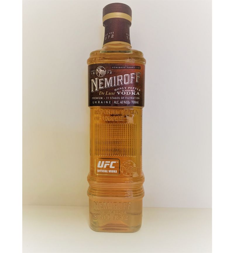 Nemiroff  Premium Vodka De Luxe Honey/Pepper flavoured 40°/700ml