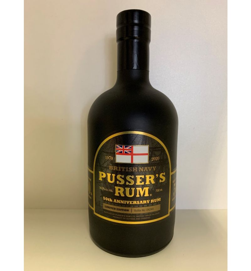 Pusser's Rum 50th Anniversary Lim Ed 54,50°/700ml