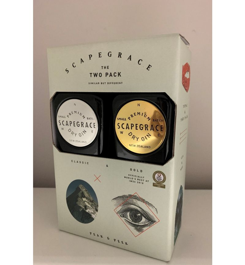 Scapegrace New Zealand Gin Twinpack 49,6°/2 x 200ml