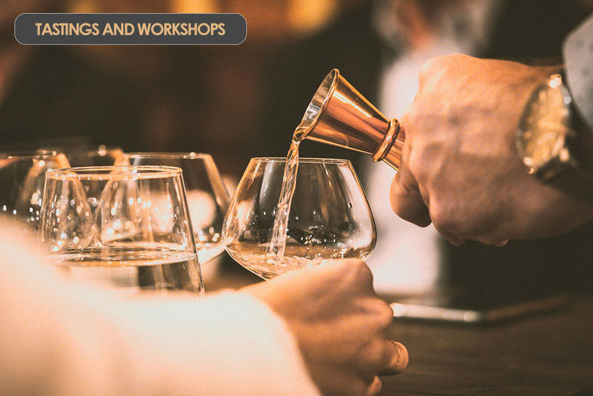 Tastings and Workshops